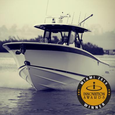 Blackfin wins 2019 NMMA Innovation award at Miami International Boat Show!