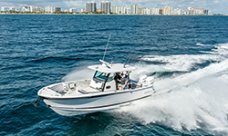 Florida Sport Fishing Blackfin 332CC Boat Preview