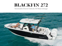 Sport Fishing Magazine Featuring the Blackfin 272 CC
