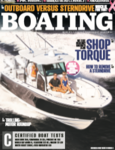 Boating Magazine 332CC Cover